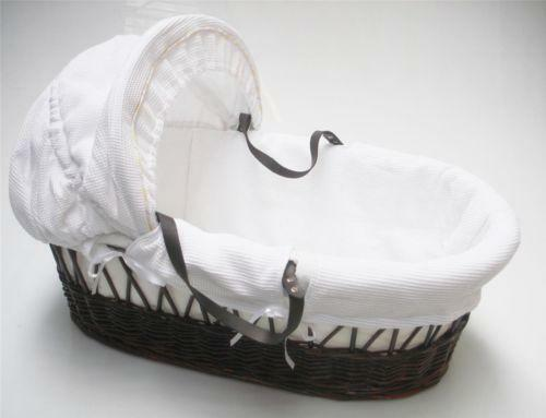 Wicker Crib Moses Basket Ebay