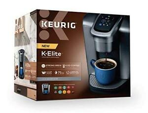 BNIB  Keurig K ELITE Brushed Silver, Retails for 200$ CAD