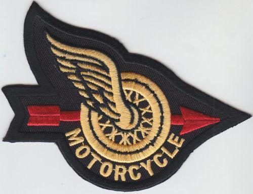Biker Vest Patches >> Winged Wheel Patch   eBay