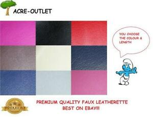 Premium-FAUX-LEATHER-Vinyl-Upholstery-Fabric-Leatherette-FIRE-RETARDANT-Material
