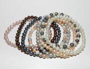 Elasticated Pearl Bracelet