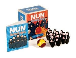 New (still sealed) NUN BOWLING Sinfully Fun Table Travel Game