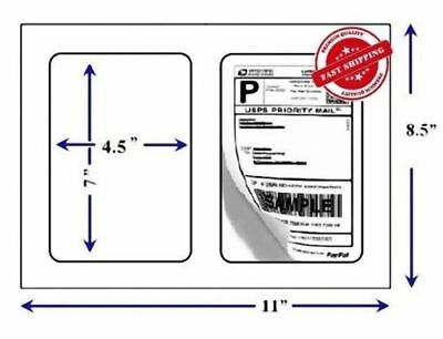 Round Corner Self Adhesive Premium Mailing Shipping Label 7 X 4.5 Usa Seller