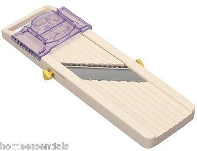 Professional Benriner Japanese Madolin Adjustable Slicer 3 Blades Easy Clean