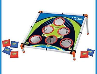 NEW Kids Outdoor Bean Bag Toss Game Camp Carnival Corn Hole Activities - Kids Bean Bag Toss