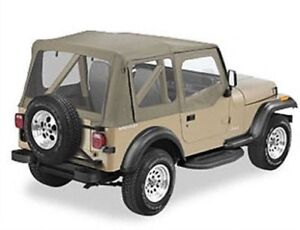 Jeep wrangler  YJ  1988-95  soft top Khaki