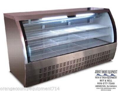 Saba 82 Scgg-82 Display Case Commercial Deli Pastry Meat Case Refrigerator