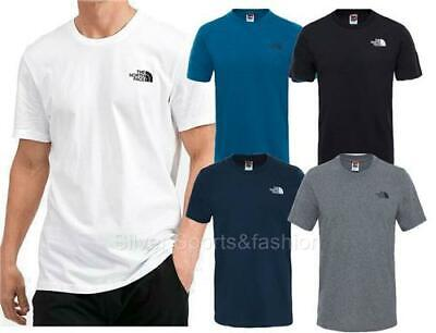 New The North Face Simple Dome Mens Cotton Crew T-Shirt S - 2XL TNF top North Face Dome