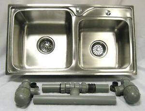 ACE Double Stainless Sink 4 Catering Trailer,Van Euro Shipping on this model