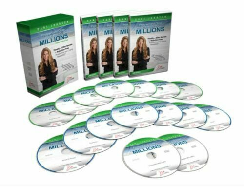 DANI JOHNSON PROSPECT AND CLOSE YOUR WAY TO MILLIONS - 16 Discs, VERY GOOD