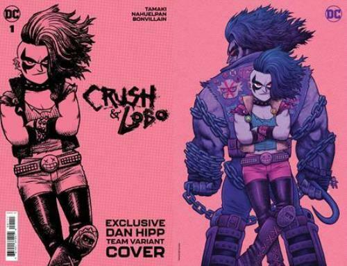 CRUSH & LOBO #1 DAN HIPP FOIL CARD STOCK VAR (06/01/2021)