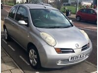 nissan micra sve 2005 auto 3 doors in excellent condition,full history,hpi clear,drives really well