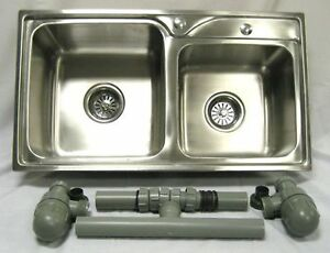NEW Double Stainless Sink 4 Catering Trailer,Van ideal for outside catering