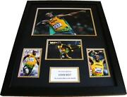 Hand Signed Usain Bolt