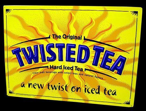 Twisted Tea Sign Ebay