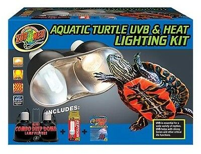 ZOO MED AQUATIC TURTLE UVB & LIGHTING KIT