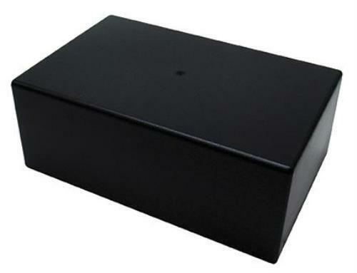 "Rectangular Abs Plastic Utility Chassis Box, 8.54"" X 5.43"" X 3.23"" 64-1039b"