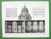Antique Architectural Prints