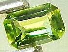Emerald Shaped Excellent Cut Natural Loose Peridots