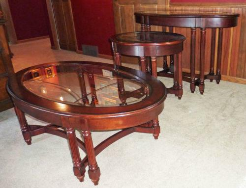 Used Coffee Table Set Ebay