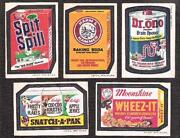 Wacky Packages 1973 Set