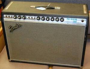 Wanted Dead or Alive.... Old Tube Guitar Amps