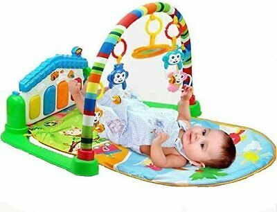 Life-Tandy Baby Kick and Gym Play Mat Lay & Play 3 in 1 Fitness Music and Lights
