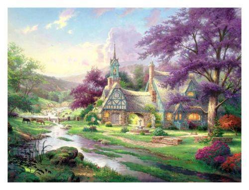 Thomas Kinkade Original Art From Dealers Amp Resellers Ebay