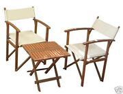 Wood Directors Chair