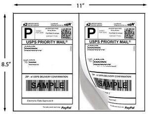 200-Half-Sheet-Self-Adhesive-Shipping-Labels-8-5-X-5-5