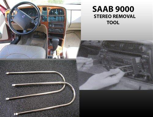 Saab Radio Stereo Removal Tool 1986