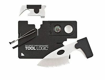 Tool Logic Credit Card Companion With Lens Compass Toollogic 9 Tools In One