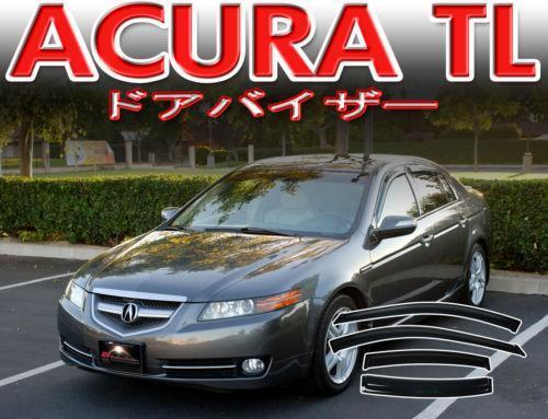 Acura tl vent visor ebay for 2003 acura tl window visor