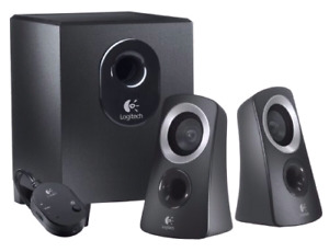 Like-new computer speaker system with subwoofer