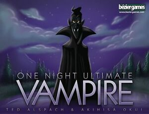 One Night Ultimate Vampire - Great Board Game Boardgame