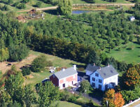 Nova Scotia, Annapolis Valley historic Beauty on 29 acres