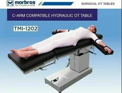 Ot Surgical Table Hydraulic Operating Table C-arm Compatible Operation Theater