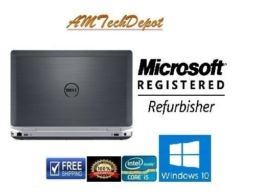 Dell Latitude E6430 Core i5-3340M 2.60GHz 8GB 320GBHDD Win10 Pro 64-BIT