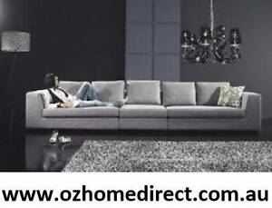 ZENITH GREY FABRIC LOUNGE Chatswood Willoughby Area Preview