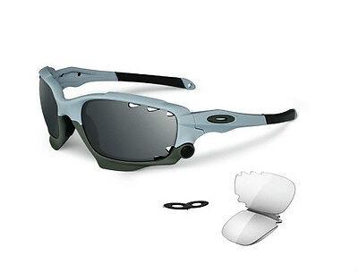 oakley matte black gascan sunglasses  oakley racing jacket