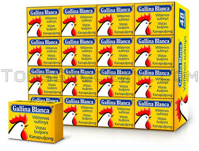 - Gallina Blanca Chicken Soup Cubes Fast Preparation Bouillon Broth