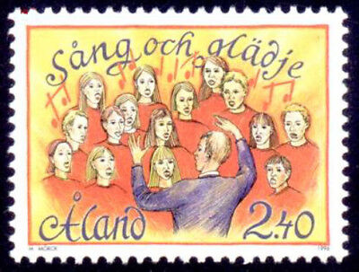 Aland 1996 Song and Music Festival, MNH / UNM