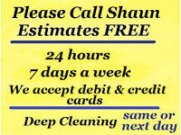Domestic Cleaning One-off £13 p/h * Professional Carpet Cleaning from £18.00