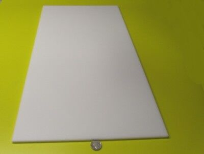 Delrin Acetal Sheet White Pom 14 .250 Thick X 12 Width X 24 Length