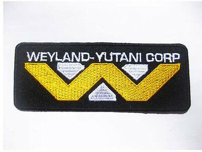 Alien Weyland Yutani Corporation Patch Badge