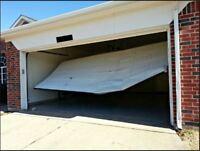 Require a fix? Damaged garage doors & opener repair