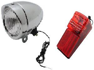 kit eclairage phare obus led feu arriere led velo sans fil a pile neuf ebay. Black Bedroom Furniture Sets. Home Design Ideas