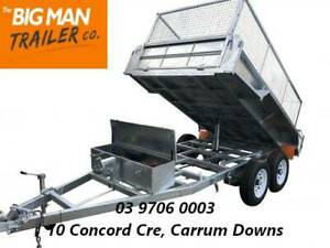 10x6 HYDRAULIC TIPPER GALVANISED TRAILER FOR SALE