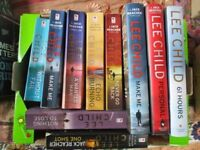 LEE CHILD thrillers