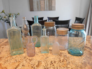 Antique Ontario Bottles and Jars